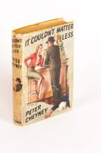 CHEYNEY: It Couldn't Matter Less (1st Ed)
