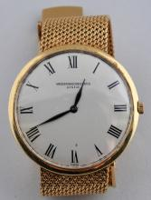 18 karat yellow gold Vacheron and Constantin
