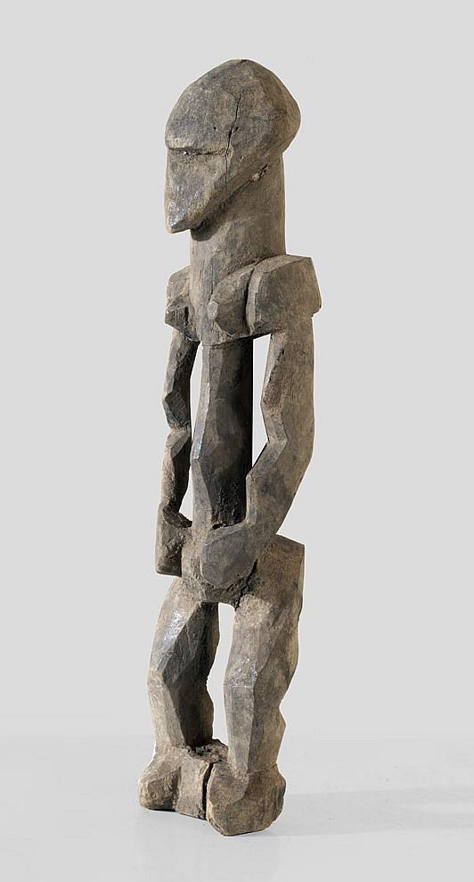 A cubistic Karaboro sculpture
