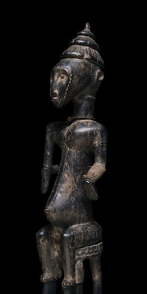 A female Kala sculpture
