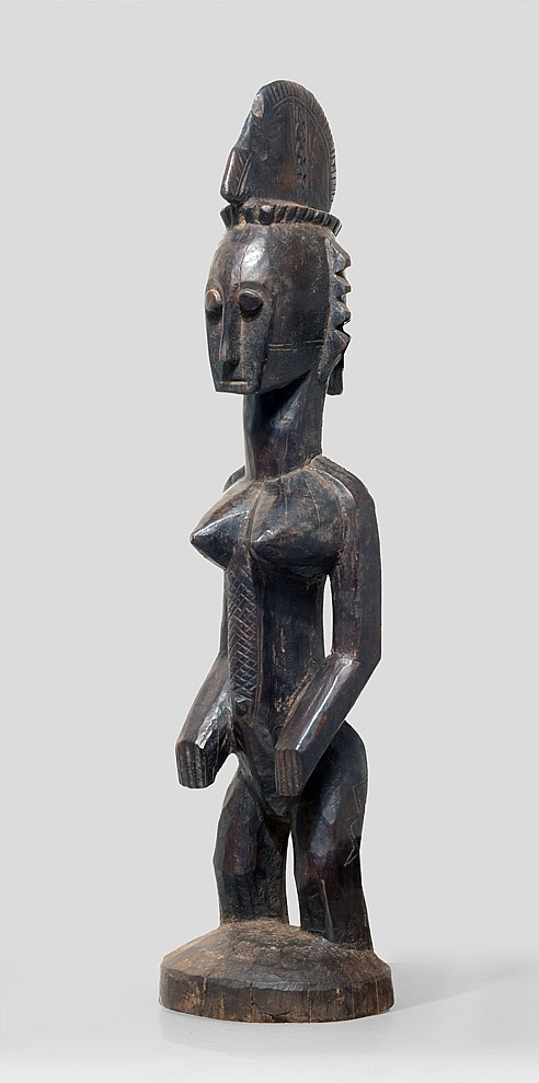 A Bamana Do'Njelini sculpture