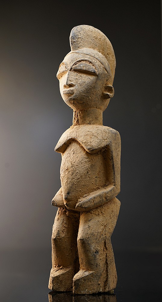 An early Lobi sculpture