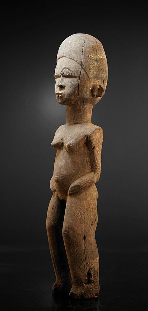 A female Lobi sculpture from the Bonko village