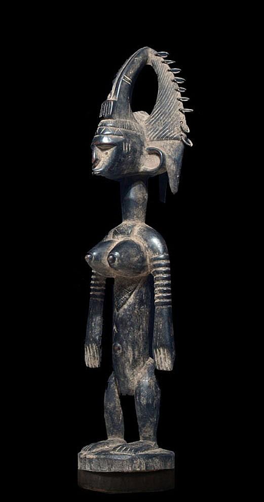 A Bamana Jonyeleni sculpture