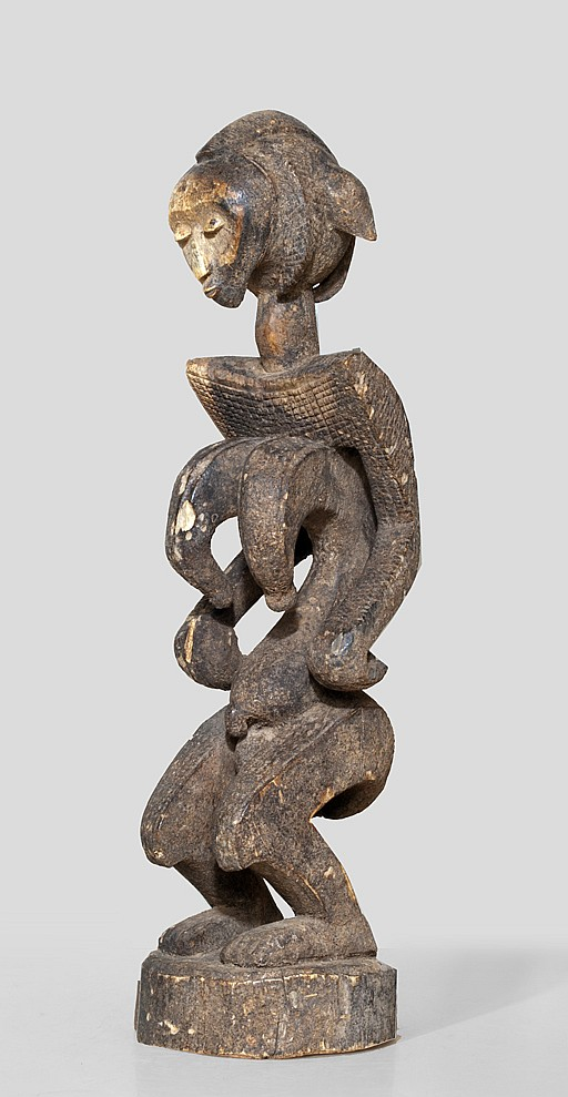 An extremly rare female Bamana sculpture