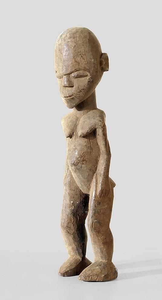 A female sculpture