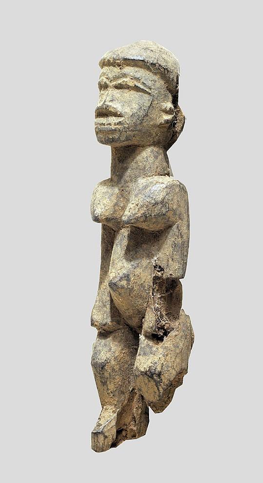 A fragmentary, rare Lobi bateba