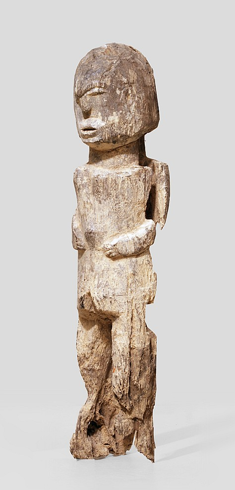 A very old, fragentary Lobi sculpture