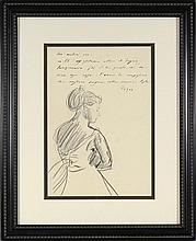 EDGAR DEGAS (ATTR) FRENCH 1834-1917