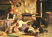 GAETANO CHIERICI (ATTR TO) ITALIAN 1838-1920