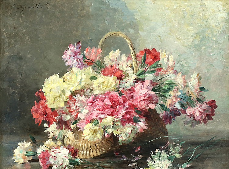 ALBERT TIBULLE FURCY DE LAVAULT FRENCH 1847-1915