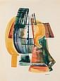 EMIL JAMES BISTTRAM AMERICAN 1895-1976