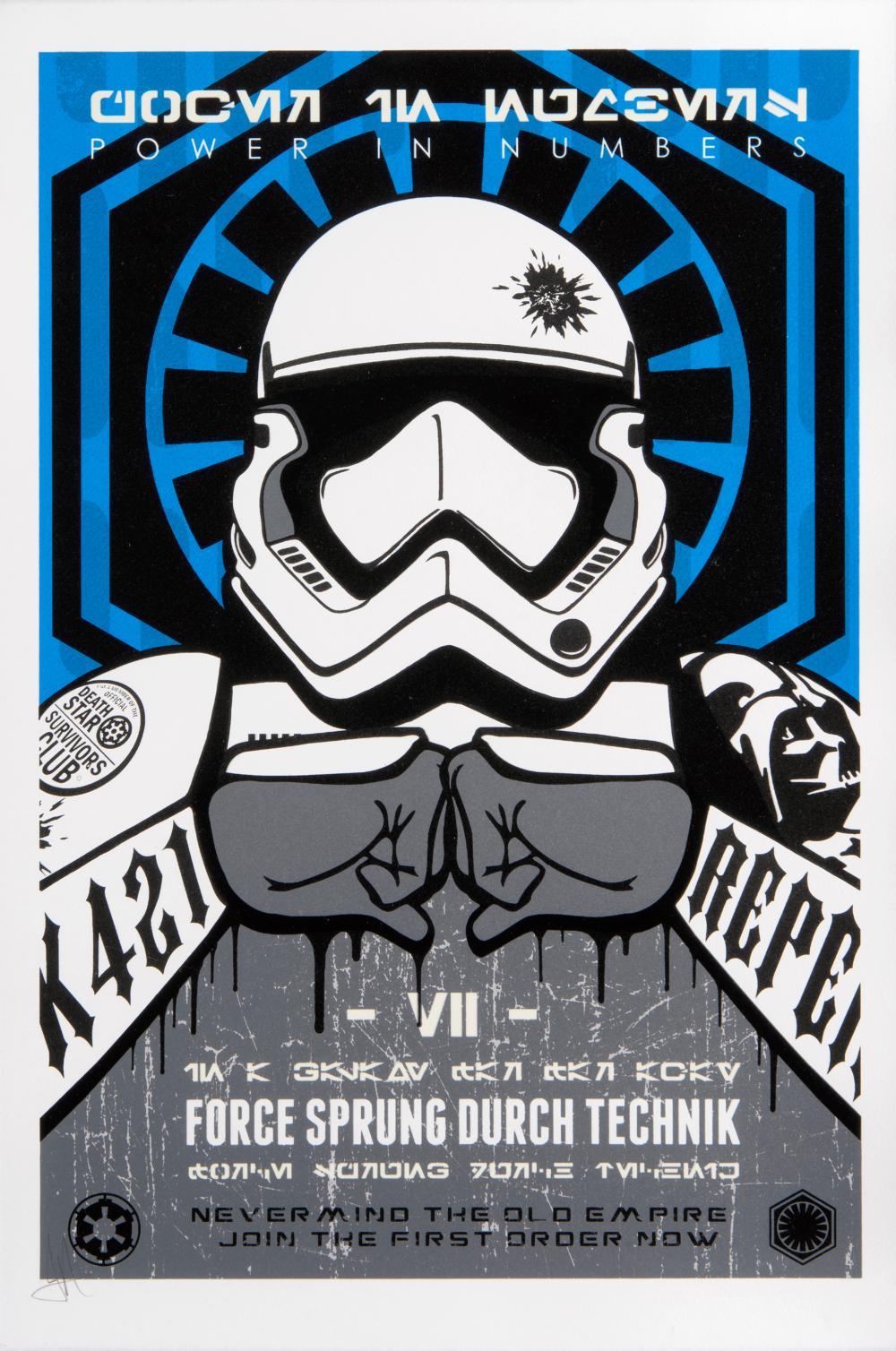 JJ Adams (British 1978-), 'First Order (Jedi & Dark Side)'