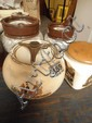 A Carltonware tobacco jar depicting a hunting