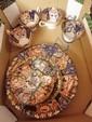 A Foley China Imari pattern teaset