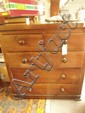 A Victorian mahogany chest of drawers