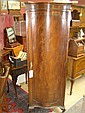 An early 20th century serpentine fronted mahogany