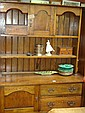 A 20th century oak dresser