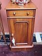 A Victorian mahogany pot cupboard
