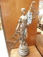 A C20  sculpture ''Justice''