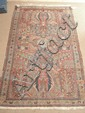 A light red ground Mahal rug