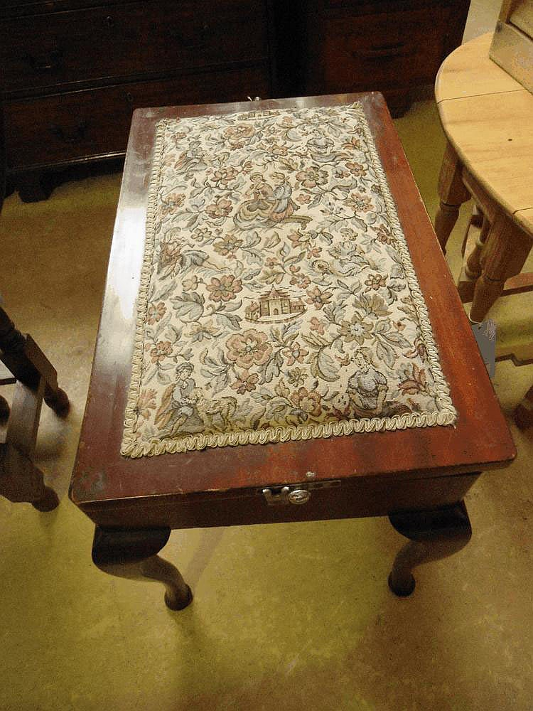 A mid 18th century Burr Walnut dropleaf table,