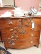 An early 19th Century mahogany bowfront chest of