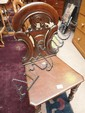 A 19th century mahognay hall chair