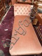Late Victorian chaise longue