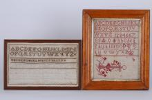 ALPHABET & NUMERAL SAMPLER AND AN APHABET SAMPLER