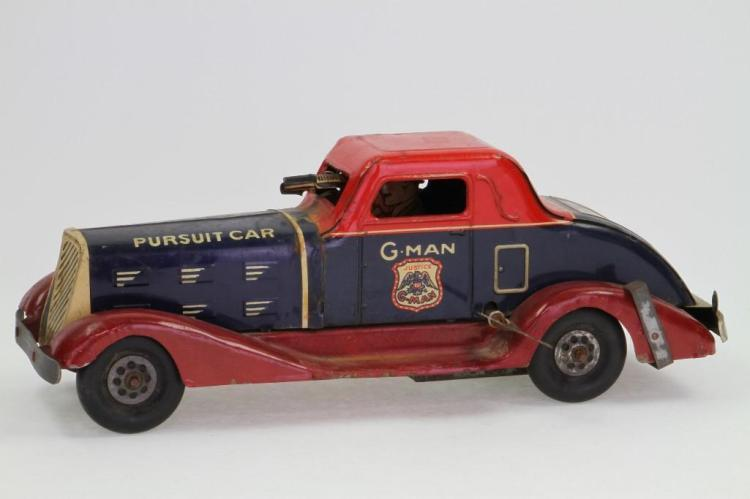 G Man Pursuit Car