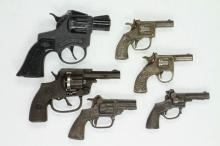 Group of (6) Toy Pistols