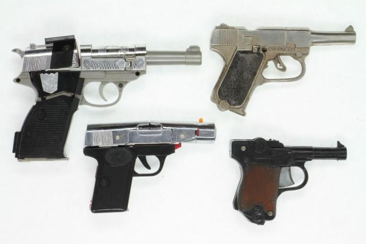 Mixed Lot of Military Gun Models