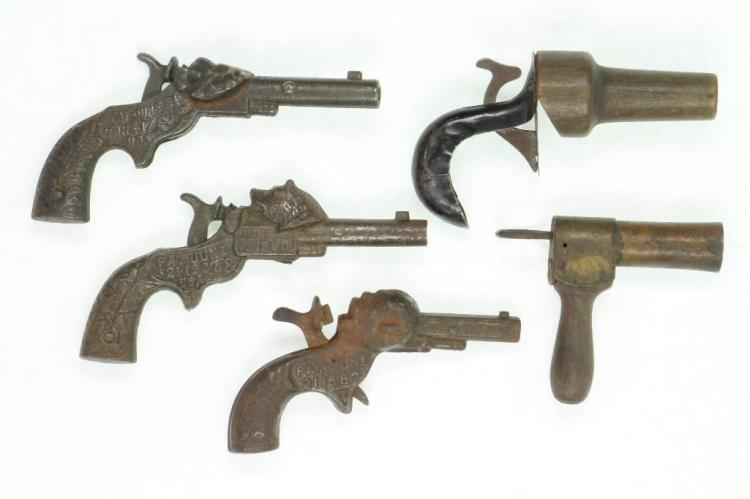 LOT OF (5) TOY PISTOLS