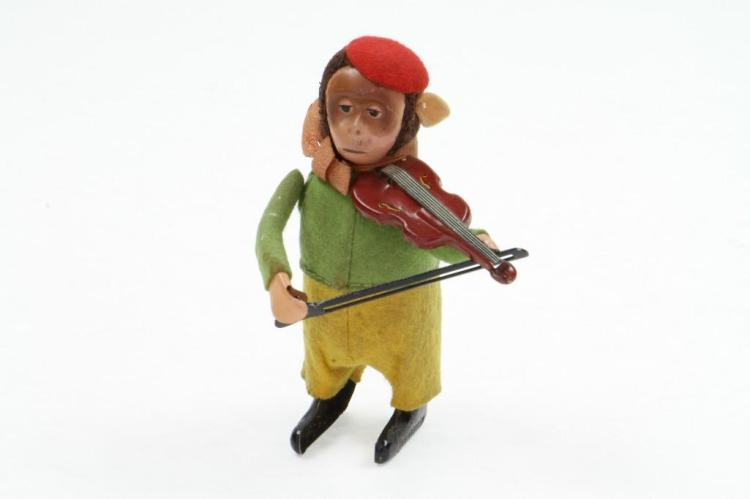 Schuco Animated Monkey with Violin