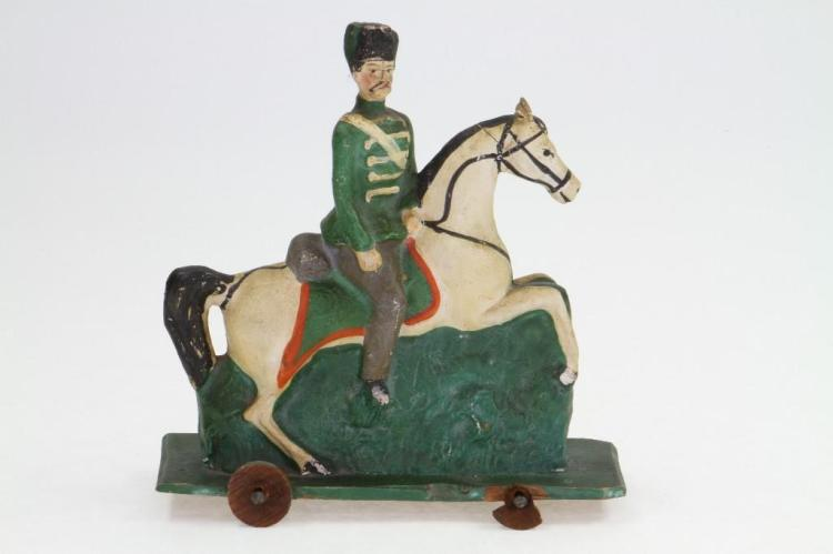 Military Figure on Horse