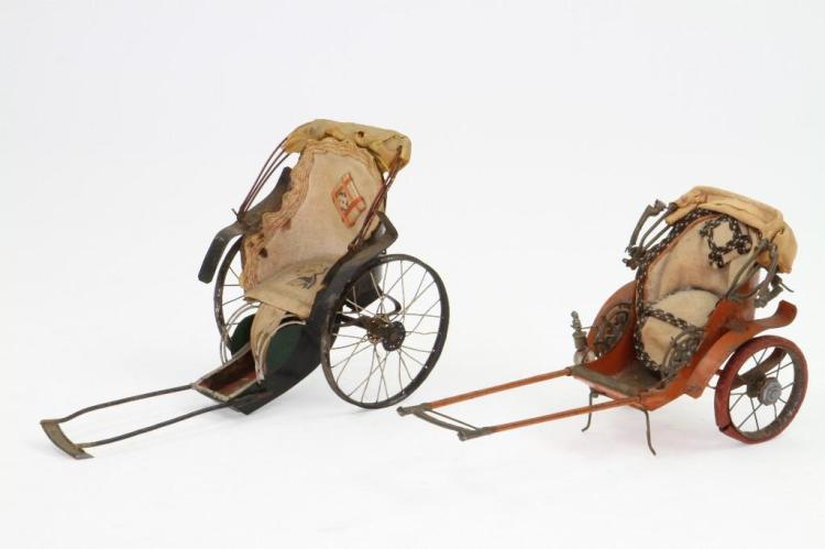Lot of (2) Rickshaw Models