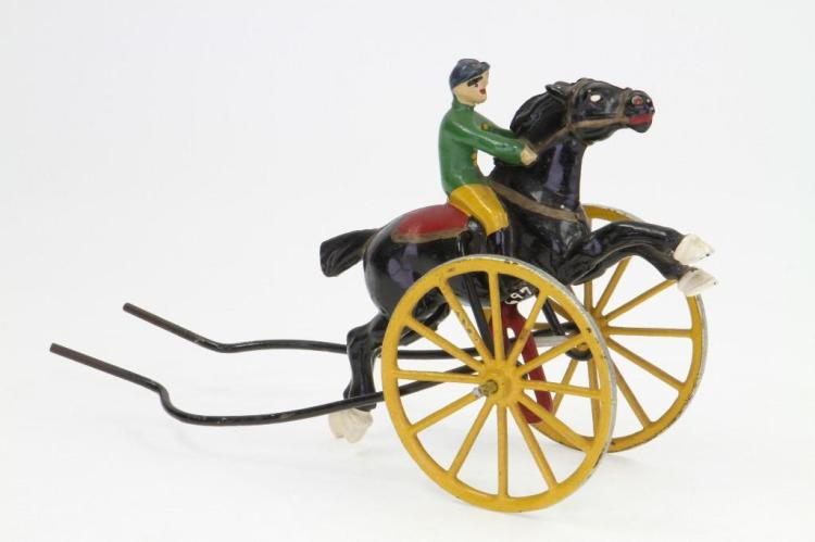 Racing Horse Push Toy