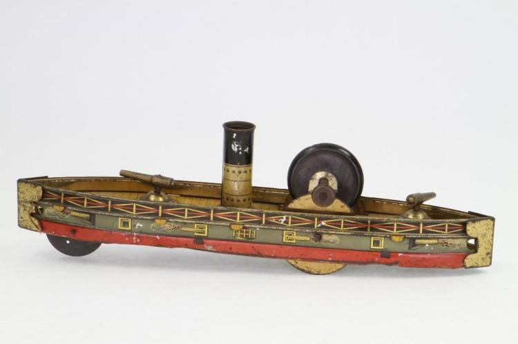 Friction Powered Gun Boat