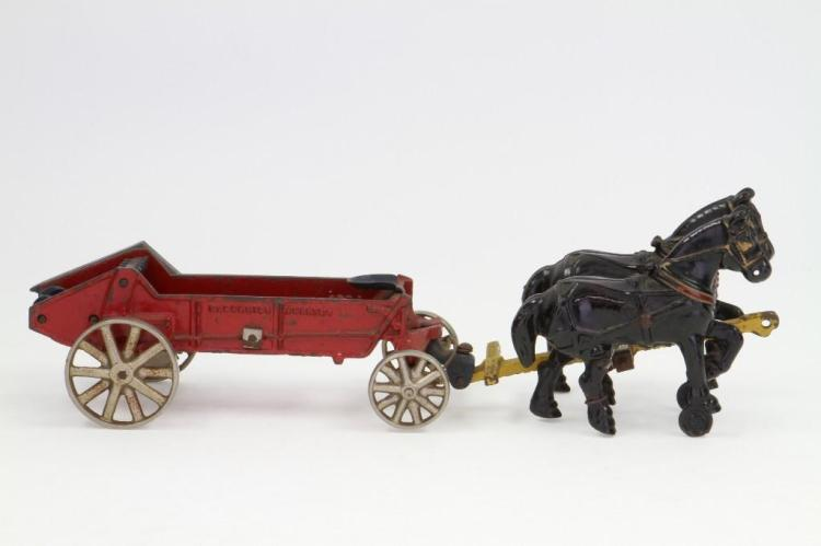 Arcade McCormick-Deering Manure Spreading Wagon