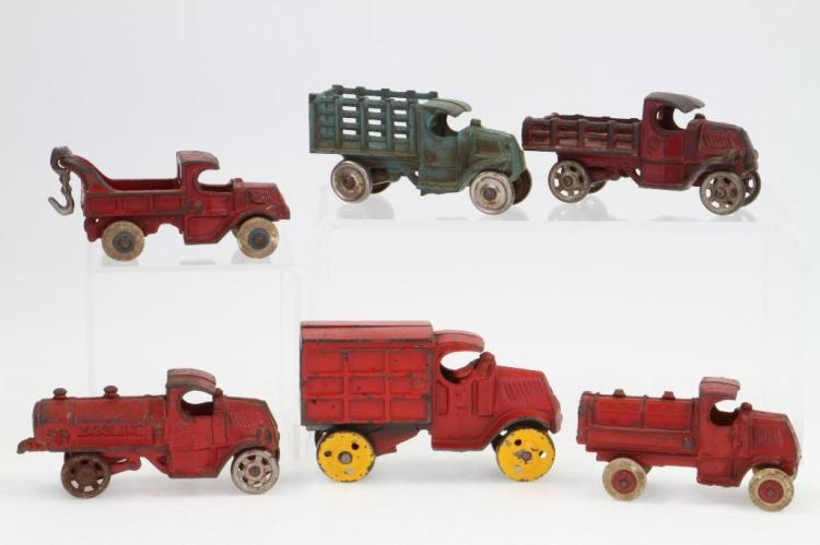 Mack Cast Iron Trucks