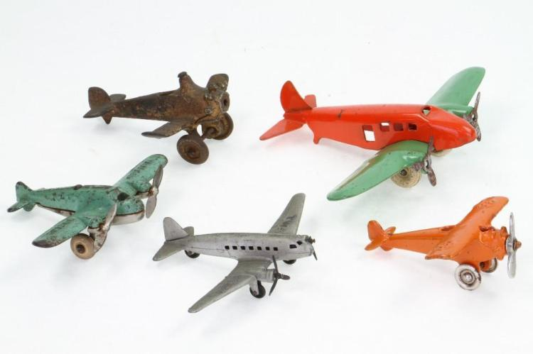 (5) Piece Aircraft Lot