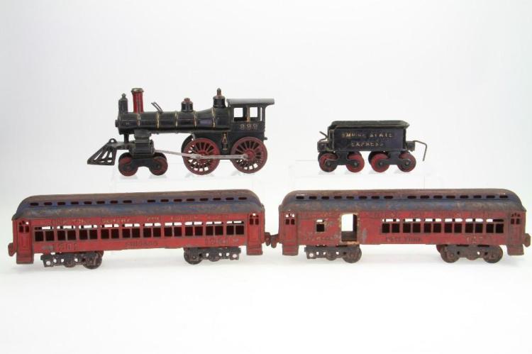Floor Train Set
