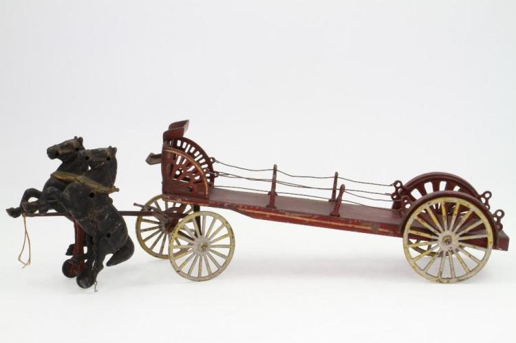 Horse Drawn Dray Wagon