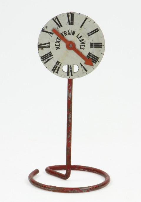 Hand Dialed RR Clock