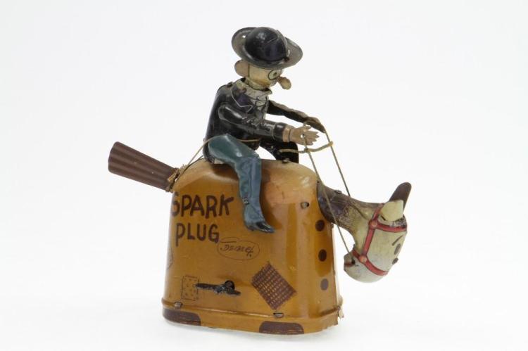Barney Google Riding Spark Plug