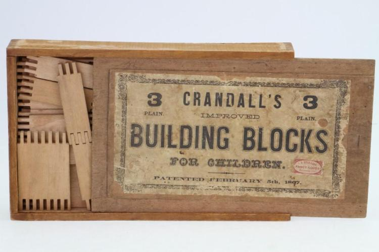 Crandall's Building Blocks Set