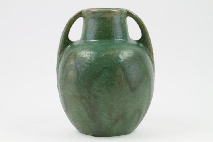FULPER POTTERY TWO HANDLED VASE