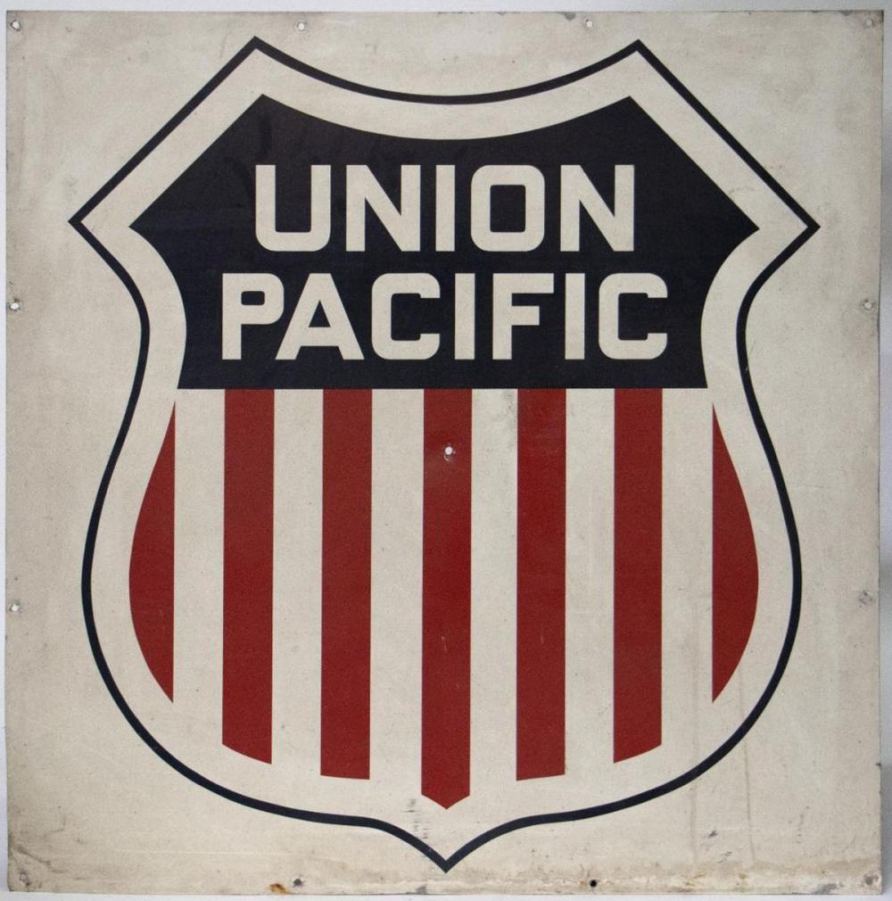 """""""UNION PACIFIC"""" shield"""