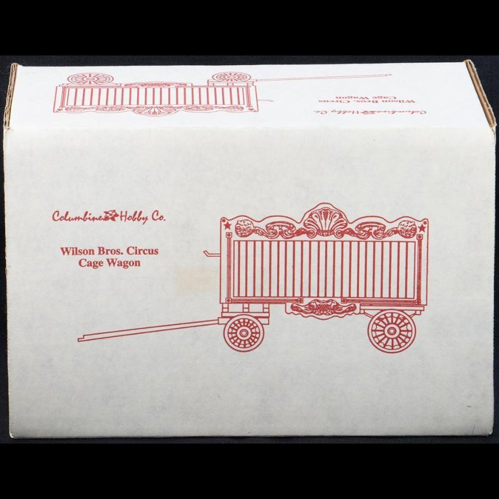 Columbine Hobby Co. Wilson Brothers Circus Cage Wagon